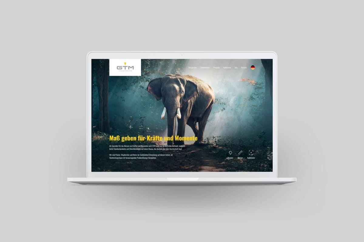 Ein neuer Website-Look für GTM