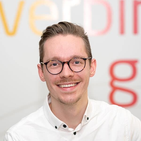 Felix Buchmüller, Web-Designer bei VRM Corporate Solutions