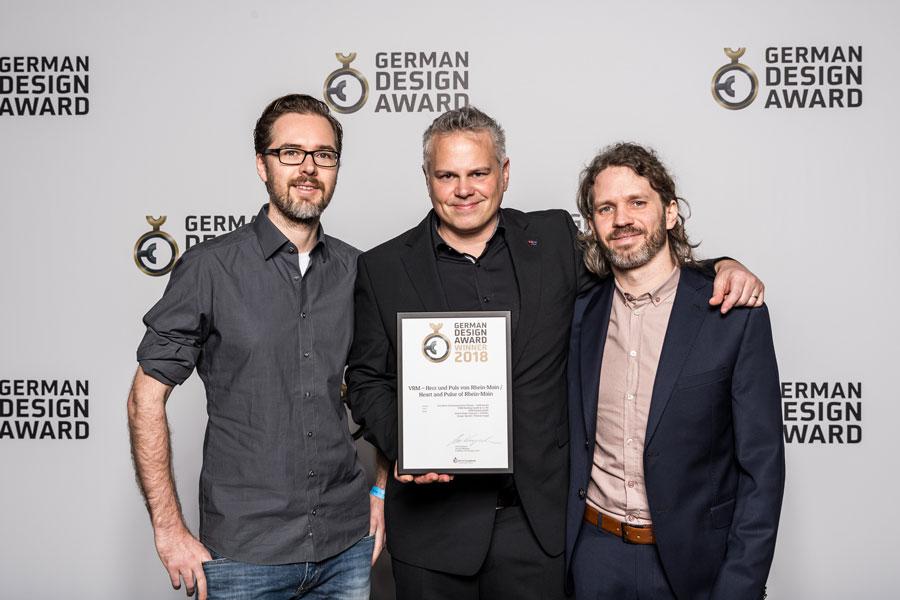 Corporate Film gewinnt German Design & Brand Award 2018