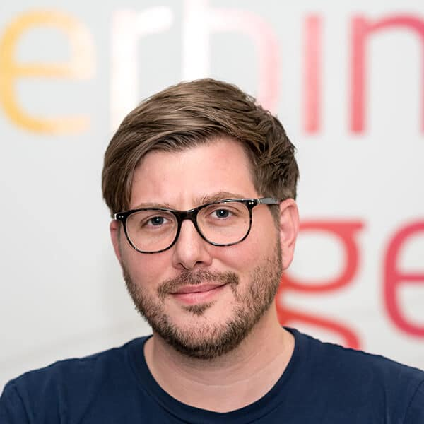 Stephan Benz, Projektmanager bei VRM Corporate Solutions