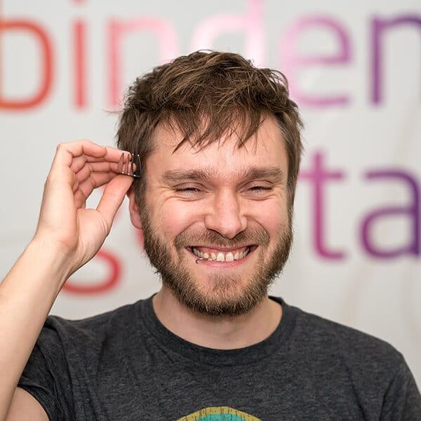 Stephan Feb, Web-Entwickler bei VRM Digital