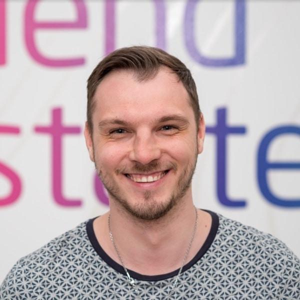 Tim Lipowski, Web-Entwickler bei VRM Corporate Solutions