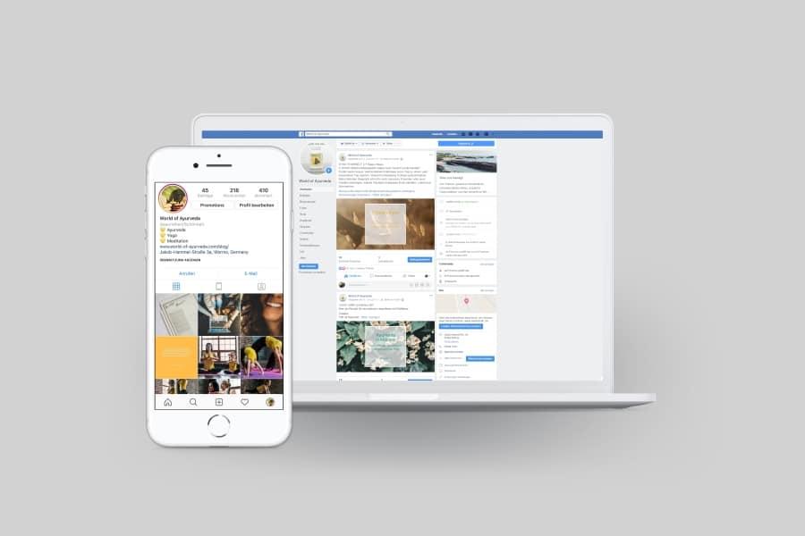 Online Marketing Strategie für World of Ayurveda