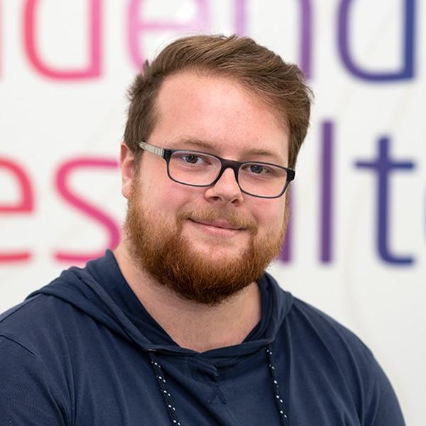 Philipp Loffel, Frontend-Entwickler bei VRM Digital