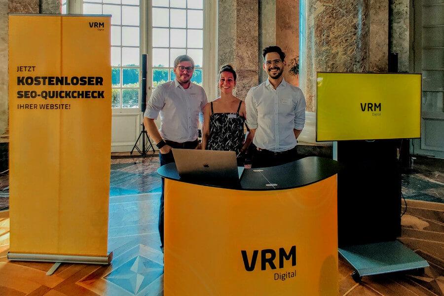 """VRM Digital präsentiert sich beim """"Sommerabend der Wirtschaft"""""""