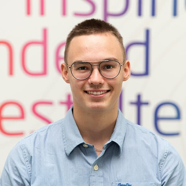 Julius Settili, Auszubildender bei VRM Digital