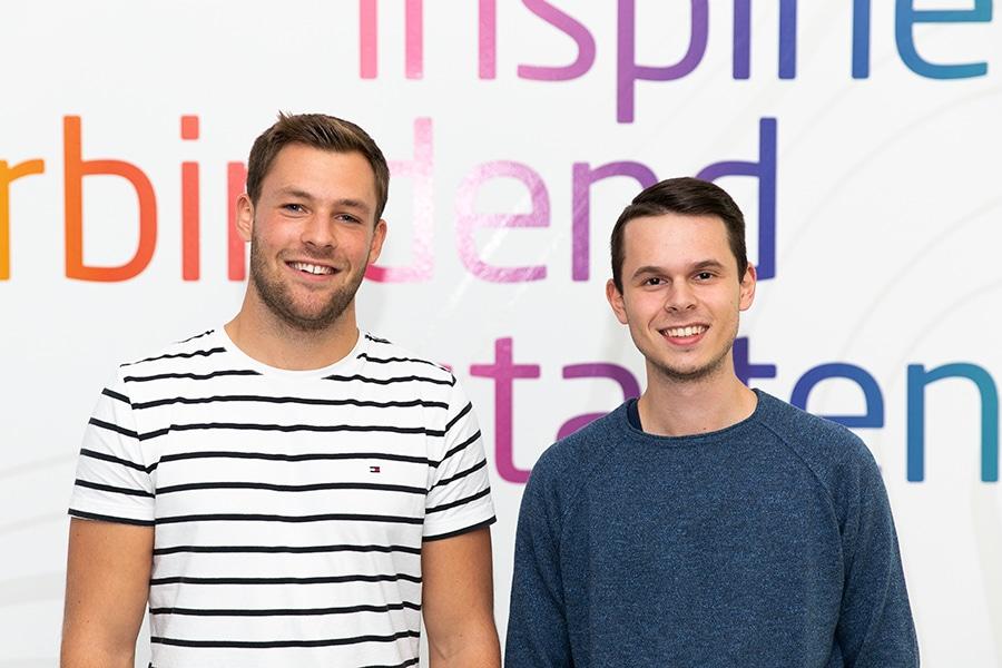 Ein guter Einstieg: Unsere neuen Auszubildenden Kevin und Tim