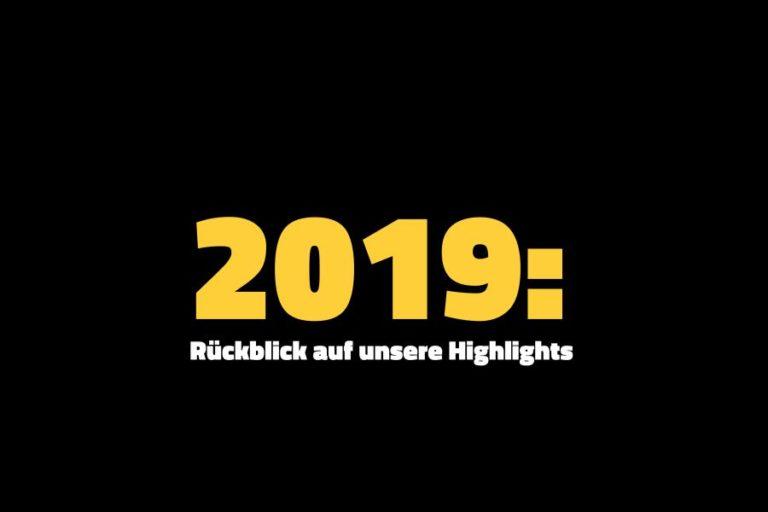 VRM Digital Communications Jahresrückblick: Highlights 2019