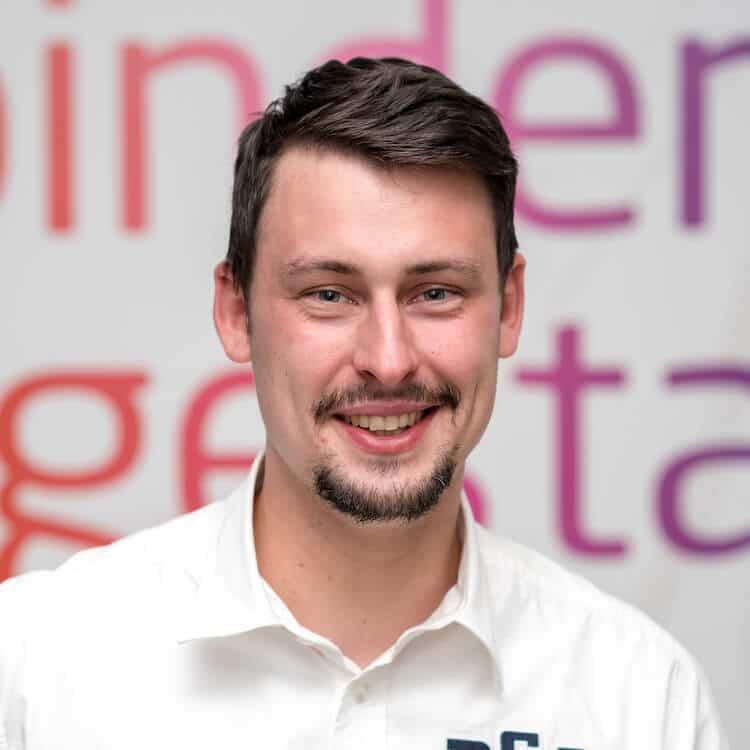 Maximilian Diehl, Projektmanager bei VRM Corporate Solutions